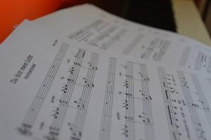 Foto Noten - Blogbeitrag musikalische Geschenkideen zum Valentinstag
