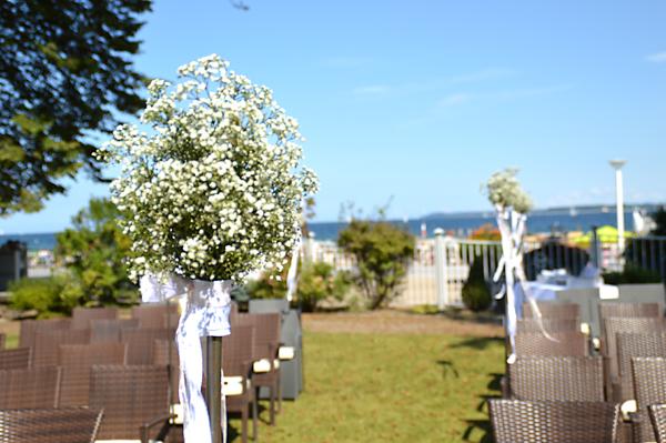 Wildblumenschmuck als Hochzeitstrend 2020