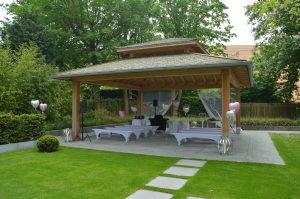 Foto Hochzeitspavillon - Hochzeitslocations in Niedersachsen