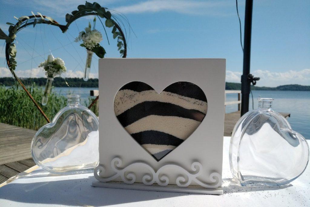 Foto Sandgießen Hochzeitsrituale