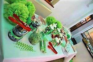 Foto Candybar bei Hochzeitsfeier - Hochzeitsplanung step by step