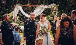 Foto Hochzeitstrend die freie Trauung im eigenen Garten