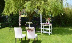 Foto Gartenhochzeit nachhaltig heiraten